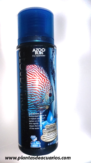AGUA TRANSPARENTE AZOO 120 ML