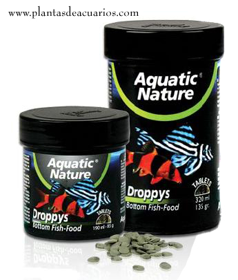 Comida peces de fondo 190 ml Aquatic Nature
