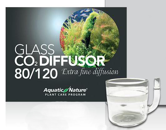 DIFUSOR CO2 CRISTAL PROFESIONAL 80-120 AQUATIC NATURE