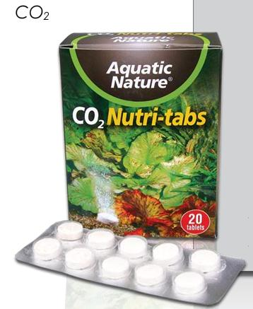 Tableta co2 20 pastillas Aquatic Nature
